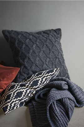 Rib Knit Blanket H&M £39.99