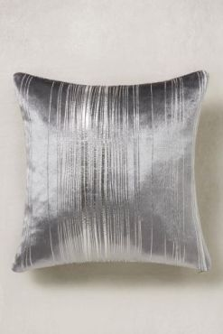 Stripe Silver Cushion Next Home £10