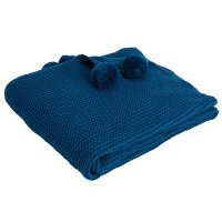 Chunky Knit Pom-Pom Throw Wilko £25.00