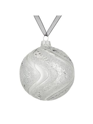 White Silver Bauble