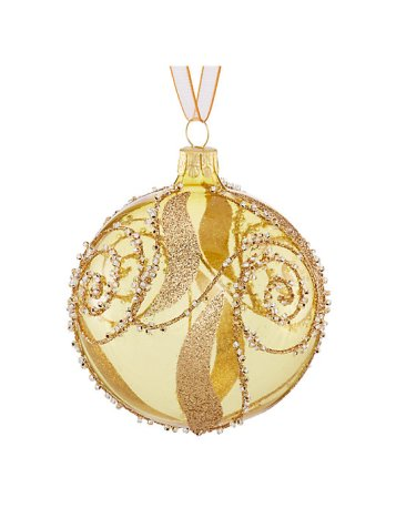 Gold Ornate Bauble