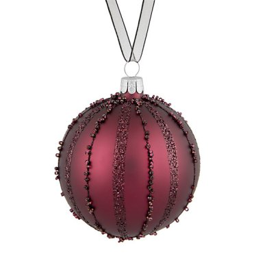 Red Decorative Bauble