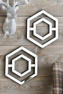 Reflective Ornament Wall Art