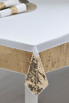 Embellished Table Cloth from Next.com starting at £28